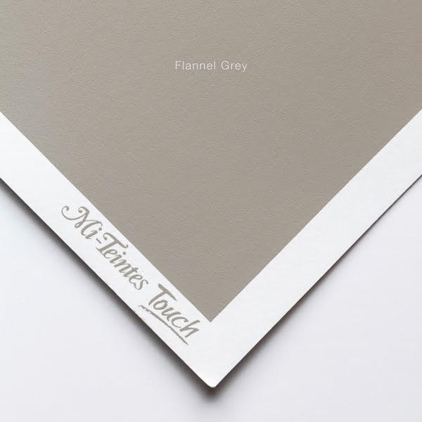 Mi-Teintes Sheets - Flannel Grey Canson