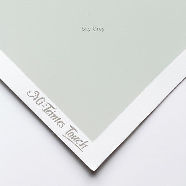 Mi-Teintes Sheets - Sky GreyCanson