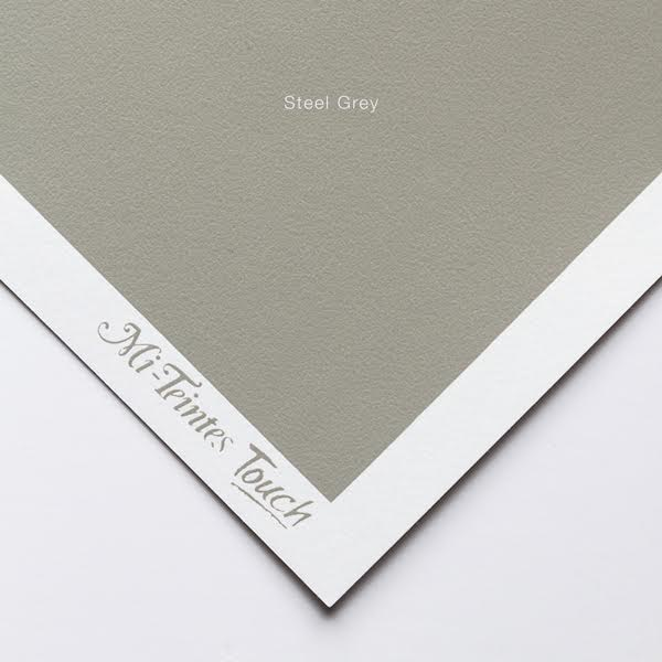Mi-Teintes Sheets - Steel Grey Canson
