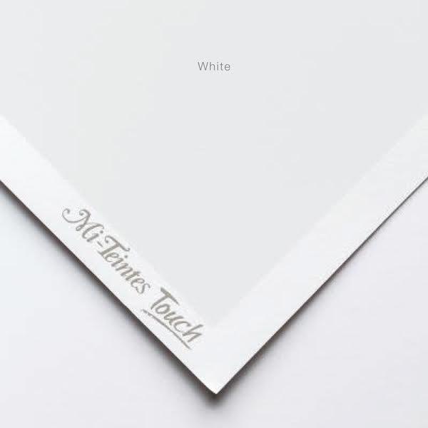 Mi-Teintes Sheets - White Canson