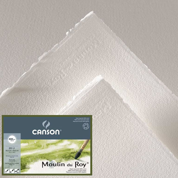 Moulin-du-Roy-Roll-300gsm-Canson-Cold-Pressed