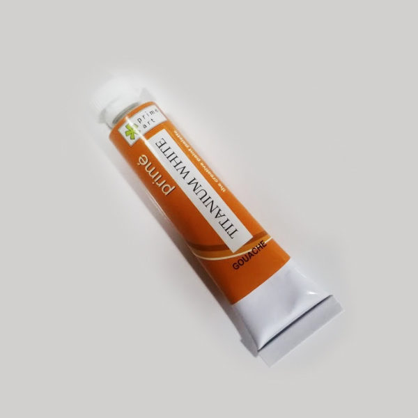 Prime-Titanium-White-Gouache-12ml-Tube-Prime-Art