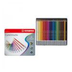 Stabilo-CarbOthello-Chalk-Pastel-Coloring-Pencil-24-Tin-Set