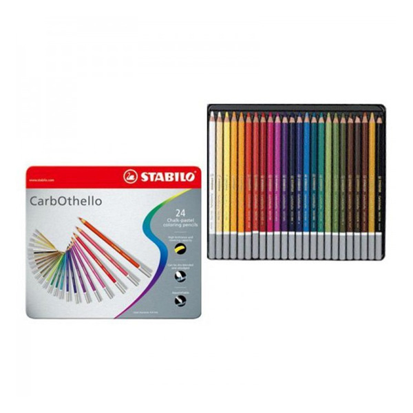 Stabilo CarbOthello Chalk-Pastel Pencil Sets - Artsavingsclub