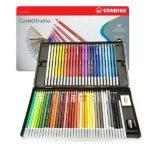 Stabilo-CarbOthello-Chalk-Pastel-Coloring-Pencil-60-Tin-Set