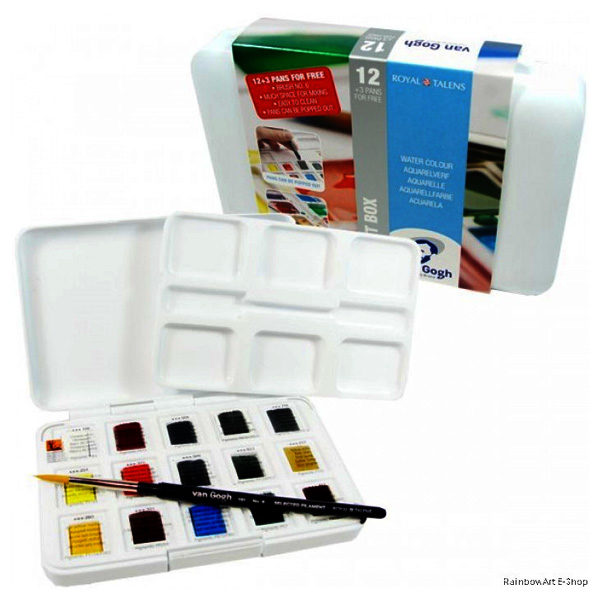 Van-Gogh-Water-Colour-Pocket-Box-12-plus-3-pans-for-free-Close-up