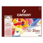 Canson-160gsm-Mi-Teintes-Spiral-Pastel-32x41cm-Sketchbook