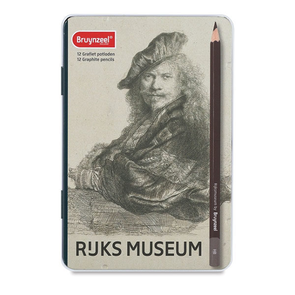 Bruynzeel-Dutch-Masters-Graphite-Pencil-12-Set-Tin-Cover