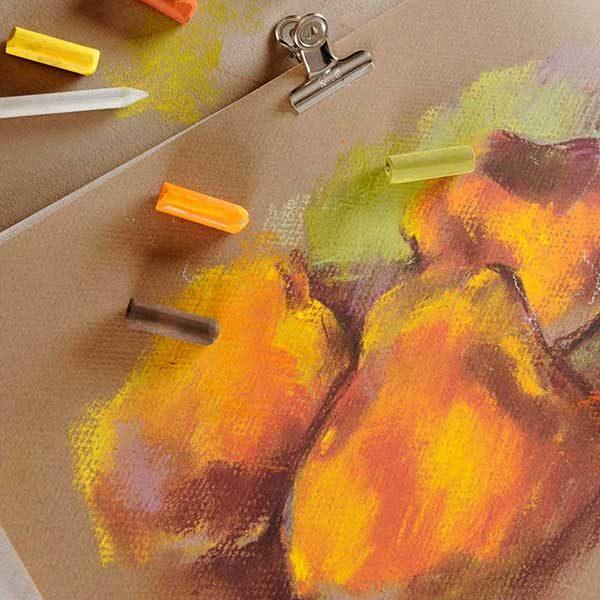 Canson-Mi-Teintes-Pastel-Paper-Sketch-Sample