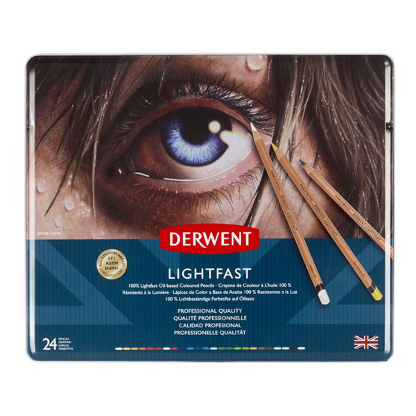 Derwent Lightfast Oil-based Coloured Pencil Sets ...