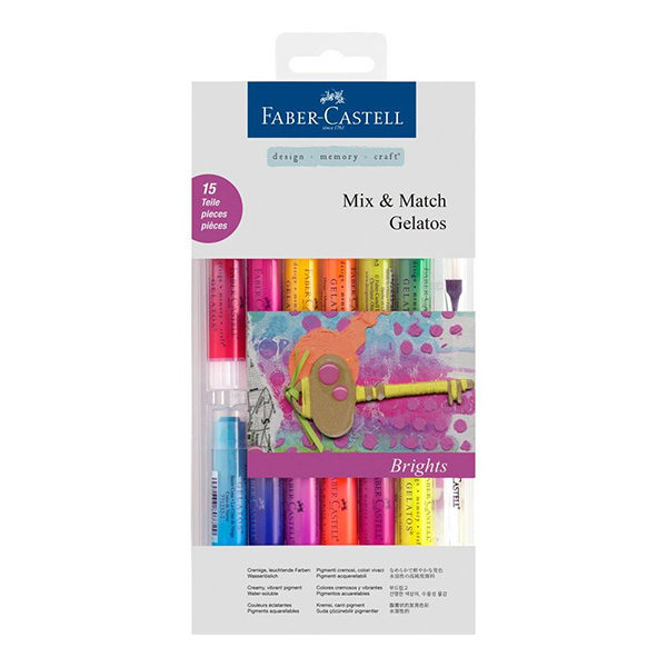 Faber-Castell-Gelato-Water-Soluble-Crayons-Brights-15-Set