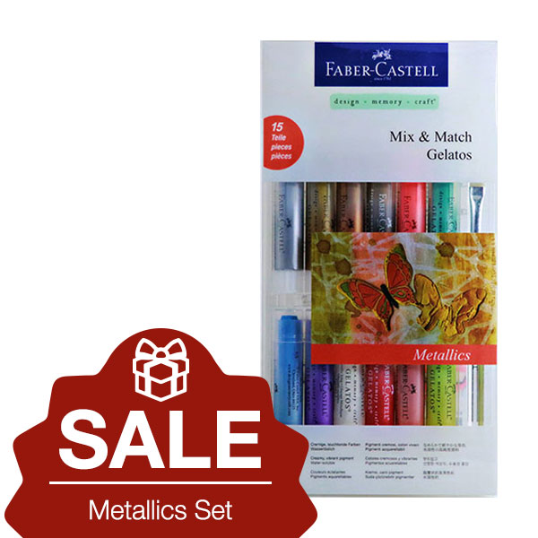 Faber-Castell-Gelatos-Metallics-15-Set-on-december-sale