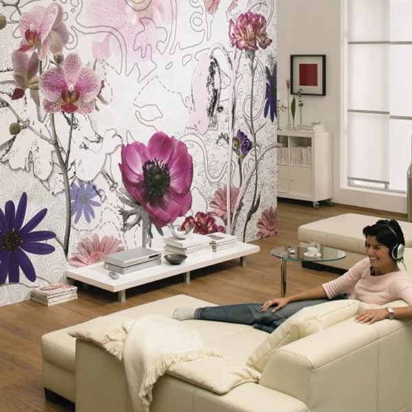 Purple-Wall-Mural-setting-sample