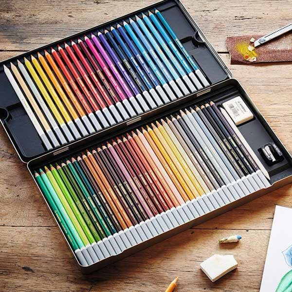 Stabilo-CarbOthello-Chalk-Pastel-Coloring-Pencils-in-Open-Tin-Case
