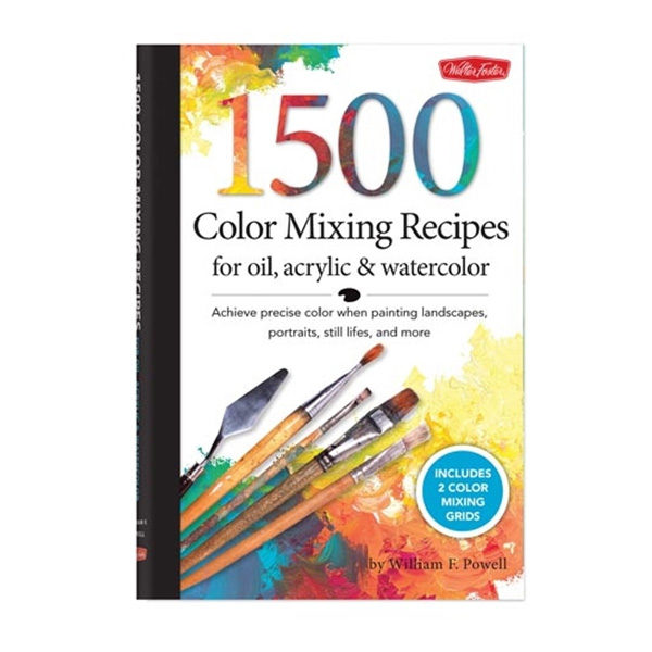 Walter-Foster-1500-Color-Mixing-Recipes