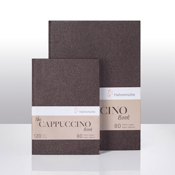 Hahnemuhle-The-Cappuccino-Book-A4-&-A5-Size