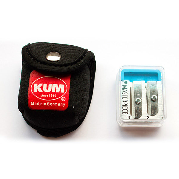 KUM-The-Masterpiece-Pencil-Sharpener-&-Pouch