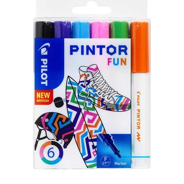 Pilot-Pintor-Marker-Fun-Set-6pc