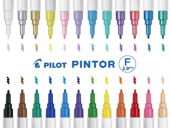 Pilot-Pintor-Markers-Colours