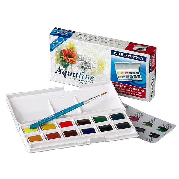Daler-Rowney-Aquafine-WatercolourPocket-Set