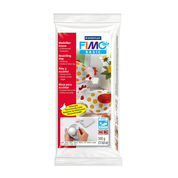 FIMO-Air-Basic-8100-0-White-Modelling-Clay-500g