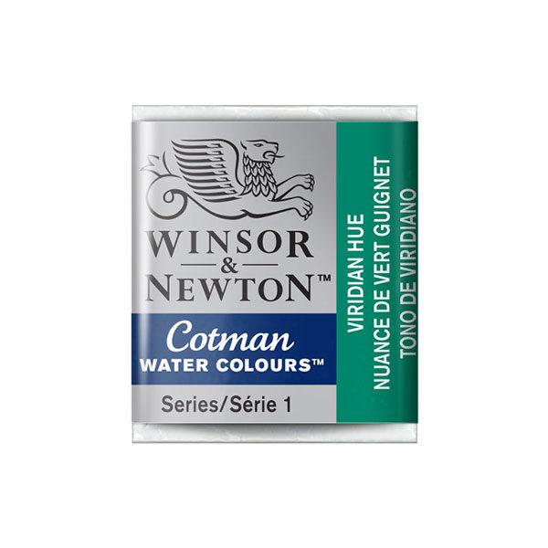 Winsor-&-Newton-Cotman-Water-Colours-Half-Pans-Viridian-Hue