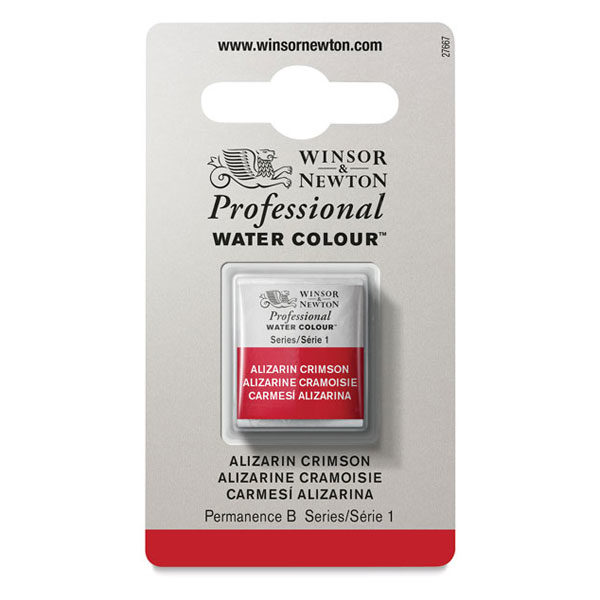 Winsor-&-Newton-Professional-Watercolour-Half-Pan-Alizarin-Crimson-Series-1