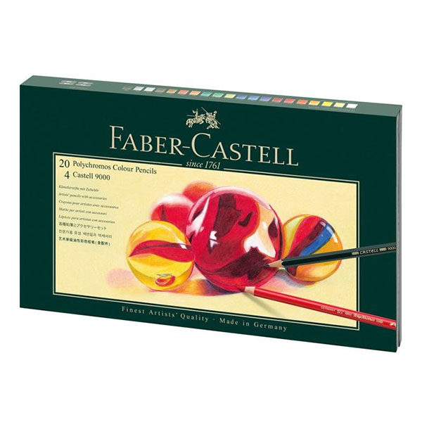 Faber-Castell-Mixed-Media-Gift-Set-Polychromos-and-Castell-9000-box
