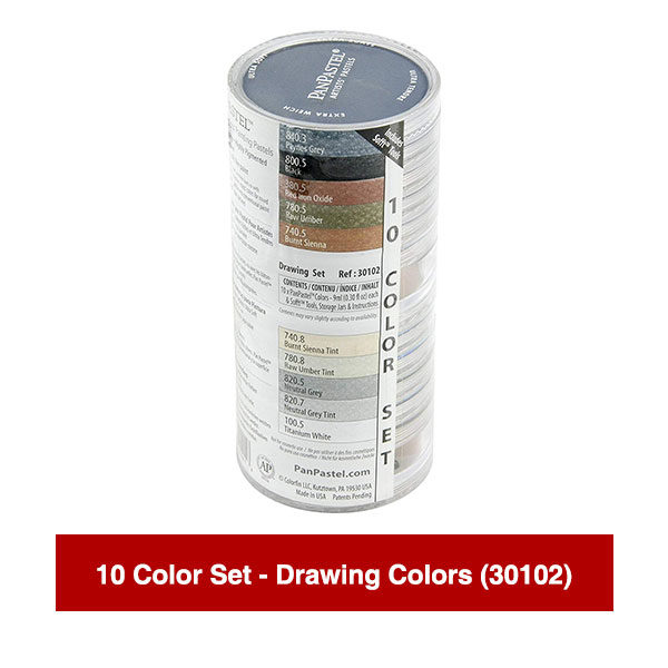 PanPastel-Ultra-Soft-Artists-Painting-Pastels-10-Color-Set-Drawing-Colors-(30102)