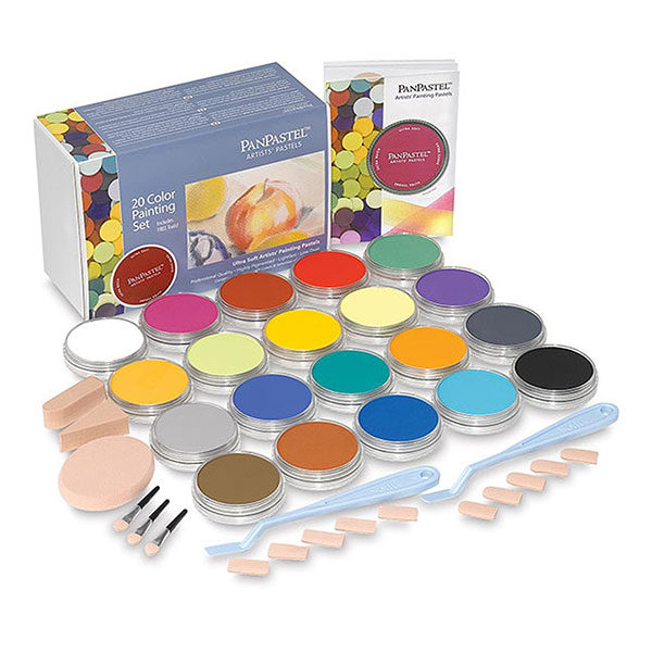 PanPastel-Ultra-Soft-Artists-Painting-Pastels-20-Color-Set