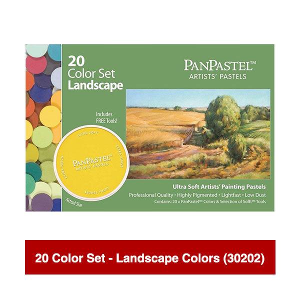 PanPastel-Ultra-Soft-Artists-Painting-Pastels-20-Color-Set-Landscape-Colors-(30202)