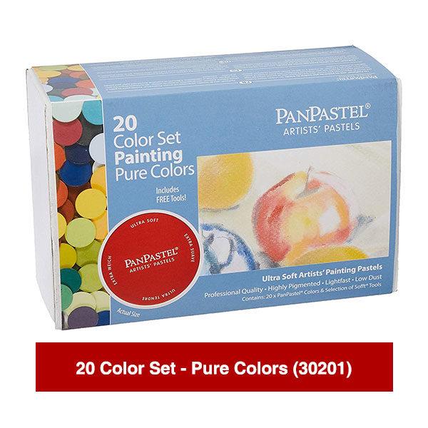 PanPastel-Ultra-Soft-Artists-Painting-Pastels-20-Color-Set-Pure-Colors-(30201)