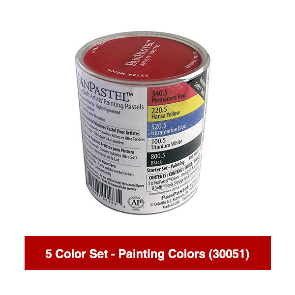 PanPastel-Ultra-Soft-Artists-Painting-Pastels-5-Color-Set-Painting-Colors-(30051)
