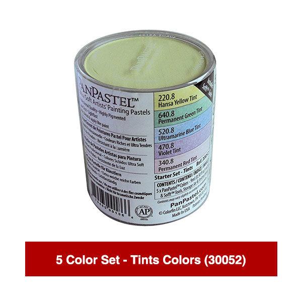 PanPastel-Ultra-Soft-Artists-Painting-Pastels-5-Color-Set-Tints-Colors-(30052)
