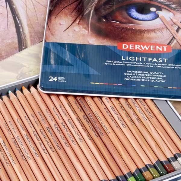 Derwent-Lightfast-Oil-Based-Coloured-Pencils-Tin-Set