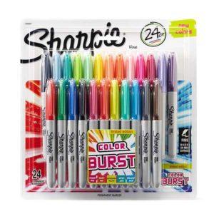 Sharpie-Fine-Permanent-Marker-Set-of-24-Limited-Edition-Color-Burst