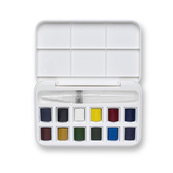 Winsor-&-Newton-Cotman-Water-Colours-Brush-Pen-Set-open-box