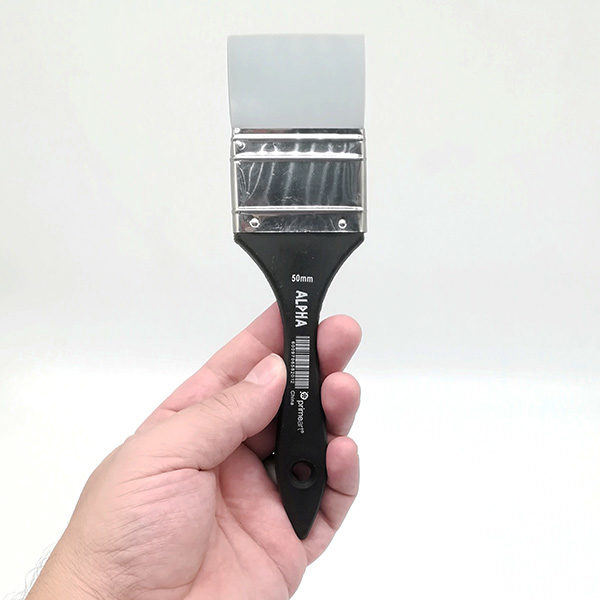 Alpha-50mm-Silicone-Brush-front-view