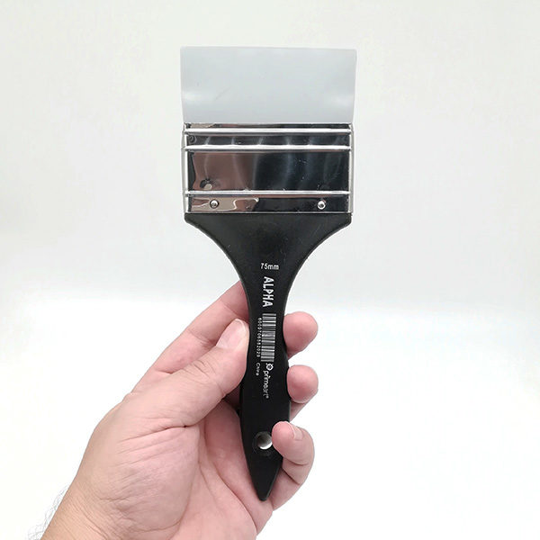 Alpha-75mm-Silicone-Brush-front-view