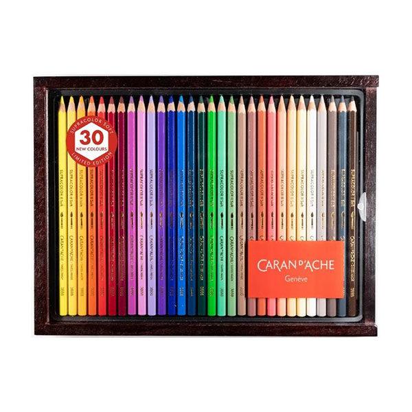 Caran-dAche-Supracolor-Soft-Aquarelle-30-Exclusive-Colours-Wooden-Box-Set-3888,830