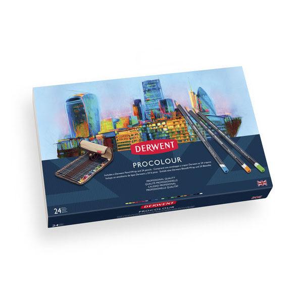Derwent-Procolour-Pencil-24-Wrap-Set-Box-Front