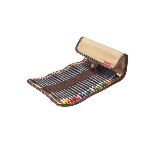 Derwent-Procolour-Pencil-24-Wrap-filled-with-Pencils