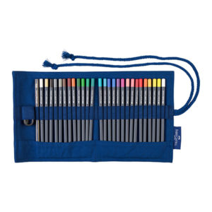Faber-Castell-Pencil-Roll-Goldfaber-Colour-Pencils-opened-up