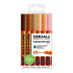 Molotow-ONE4ALL-Acrylic-Marker-2mm-Character-Set
