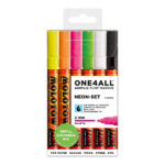 Molotow-ONE4ALL-Acrylic-Marker-2mm-Neon-Set