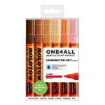 Molotow-ONE4ALL-Acrylic-Marker-4mm-Character-Set