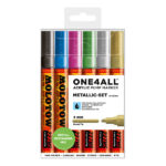 Molotow-ONE4ALL-Acrylic-Marker-4mm-Metallic-Set
