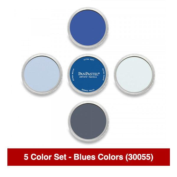 PanPastel-Ultra-Soft-Artists-Painting-Pastels-Blues-Colors-5-Color-Set-30055