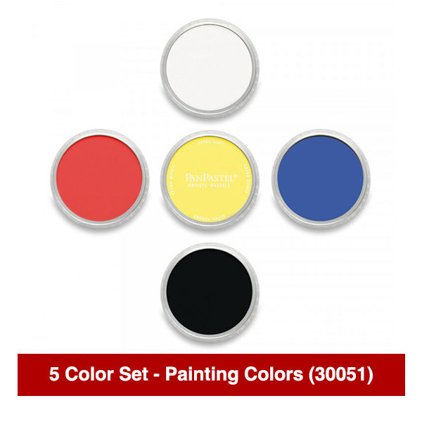PanPastel-Ultra-Soft-Artists-Painting-Pastels-Painting-Colors-5-Color-Set-30051