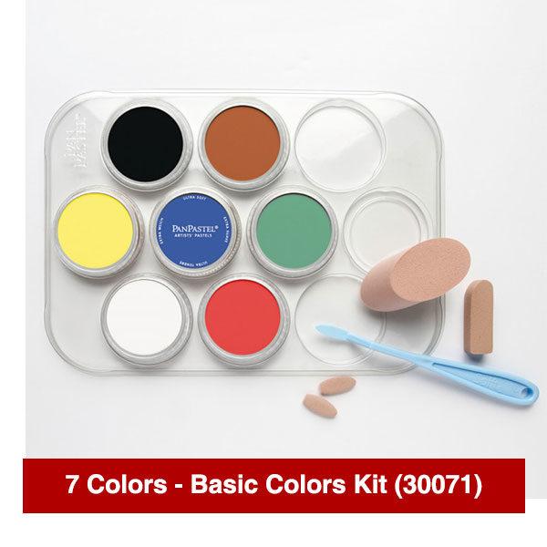 Panpastel-7-Colors-Basic-Colors-Kit-(30071)